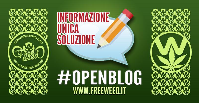 Openblog Progetto FreeWeed