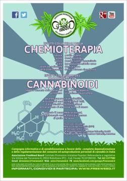Cannabis VS Cancro - Volantino A4 a colori - 02