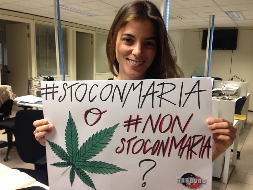 VIVA MARIA? AnnoUno - La7, conduce Giulia Innocenzi puntanta sulla Cannabis