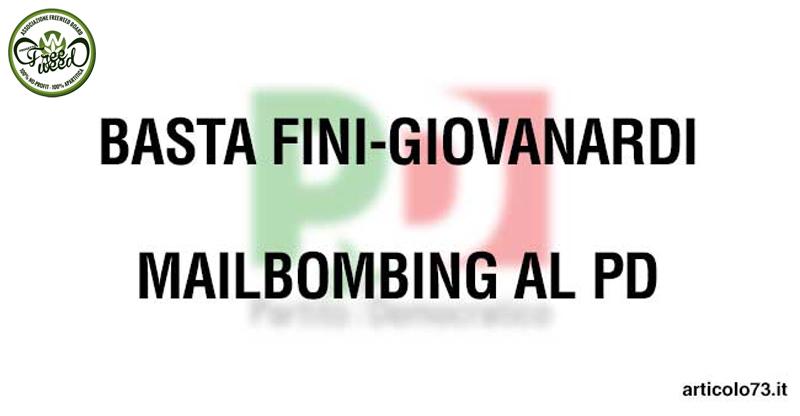 Basta Giovanardi! Appello ai senatori PD + Mailbombing