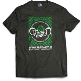 Tshirt Ufficiale Progetto FreeWeed (Black)