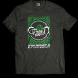 Tshirt Ufficiale Progetto FreeWeed (Black)