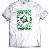 Tshirt Ufficiale Progetto FreeWeed (White)
