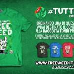 TuttiuniTEE a sostegno della Raccolta Fondi Progetto FreeWeed