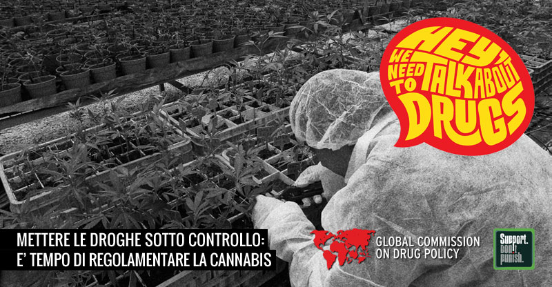 "Campagna Stampa ""Hey we need to talk about drugs"""