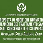 Proposta Legge Stupefacenti Complessiva Avvocato Carlo Alberto Zaina