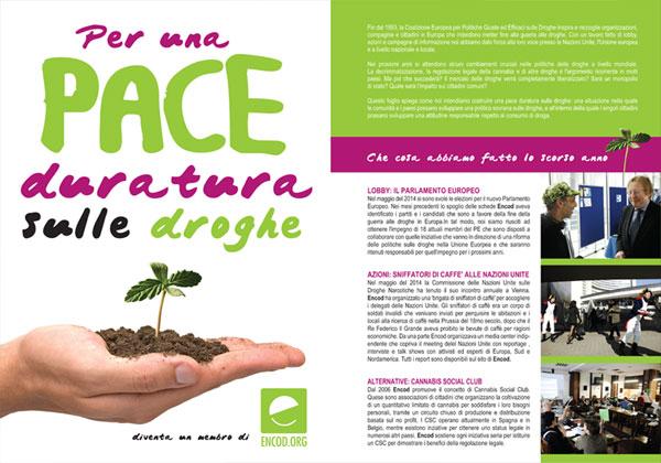 Campagna Informativa Encod: volantino 2014