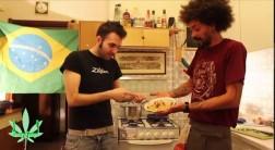 Pasta con Pesce e Tripla Ganja
