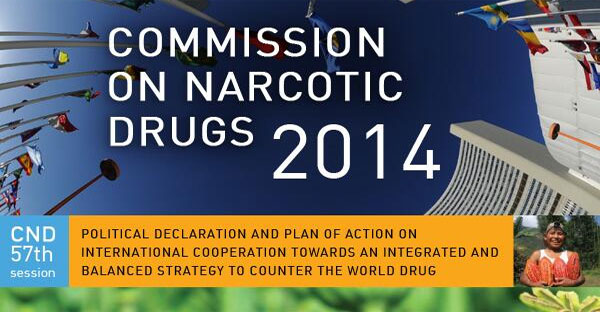 ENCOD @ Commission on Narcotric Drugs - CND 57th Session, 3-5 december 2014