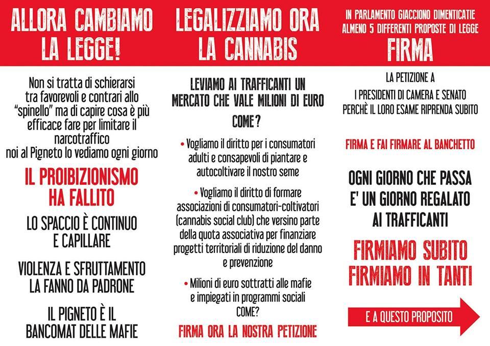 Pigneto roma semi di liberta volantino 2 freeweed for Asclub volantino