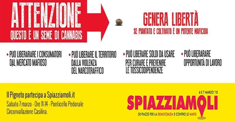 """""""Semi di Libertà"""" - Pigneto, Roma, Sabato 7 Marzo 2015"""