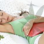Una supposta a base Cannabis per alleviare i crampi mestruali