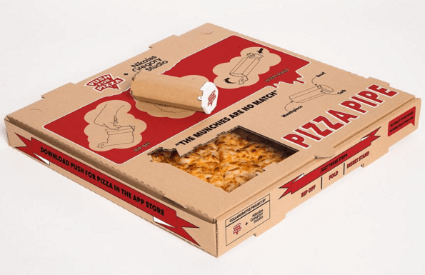 Curiosità: Il Cartone per la Pizza che diventa Pipa per la Cannabis