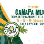 L'Associazione FreeWeed a Canapa Mundi 2017 – La Fiera della Canapa a Roma