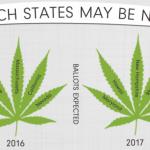 Quali Stati negli USA stanno valutando la Legalizzazione della Cannabis nel 2017?