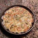 Ricetta: Frittata canaposa con uova, carciofi e semi di canapa