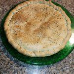 Ricetta: Torta rustica con radicchio, carciofi e semi di canapa