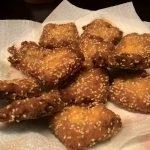 Ricetta: toast di pan carré alla canapa con gamberi al sesamo