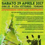 Cannabis Parade – Street Antiproibizionista Nazionale – 29 aprile 2017 – Torino