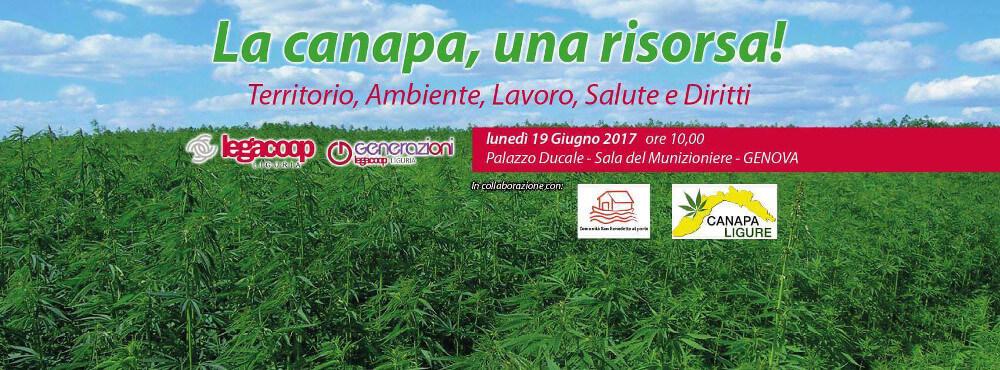 """L'intervento dell'Associazione FreeWeed al Convegno Nazionale """"La Canapa come Risorsa"""" a Genova"""