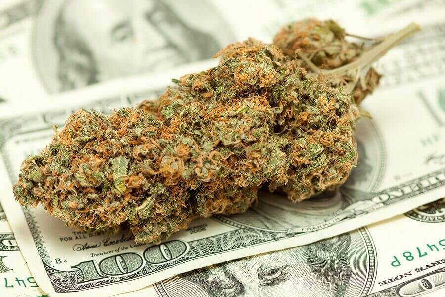 Cannabis and Money , legal taxes