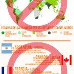 Legalità della Cannabis nel Mondo – Infografica 2018