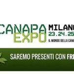 FreeWeed @ Canapa Expo – Milano, Novegro – 23/24/25 novembre 2018