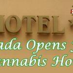 """In Canada apre il primo Hotel """"Cannabis Friendly"""""""